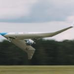 Концепт ультраэффективного авиалайнера V-образной конфигурации совершил первый полет