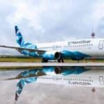 Новая ливрея авиакомпании NordStar