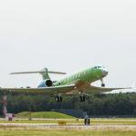 В первый полет отправился четвертый прототип G700